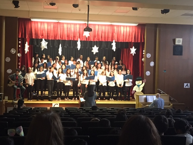 South Middle School chorus visits Parkville