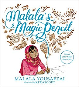Book Cover of Malala's Magic Pen