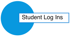 image of student log ins