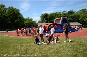 image of students at field day