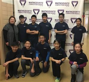 Math Counts team