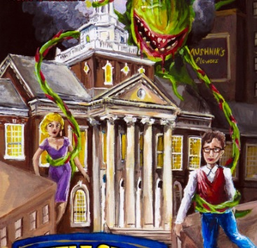 Image of Little Shop of Horrors banner