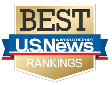 US News and World Report best rankings badge