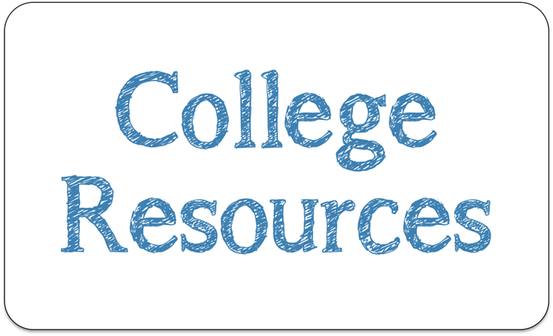 College Resources banner