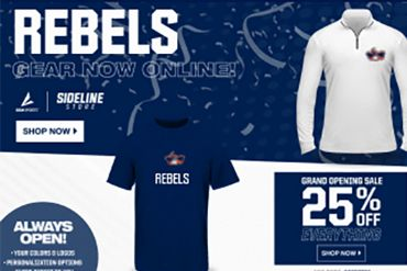 photo of rebel store website