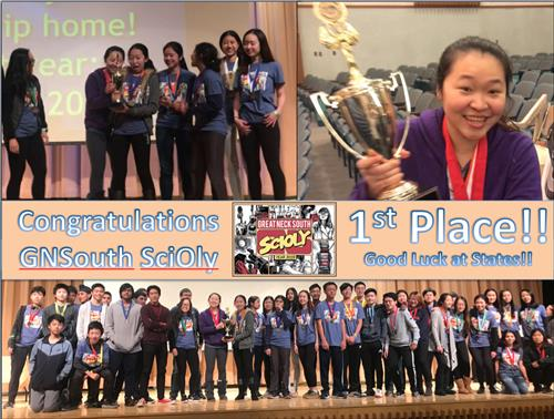 photos of science olympiad team