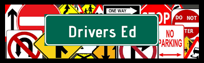 Driver Ed sign