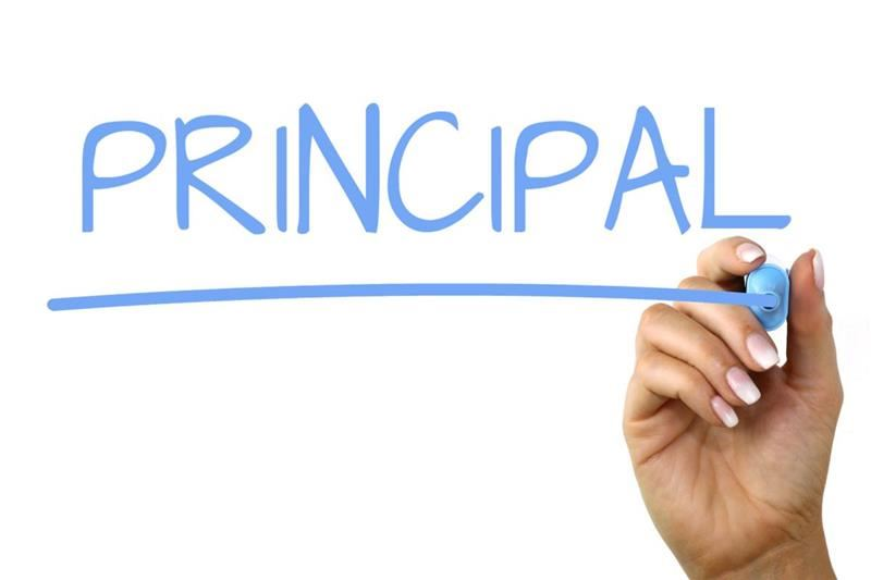 Principal's Message header