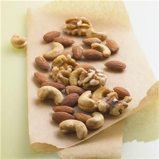 Image of various nuts