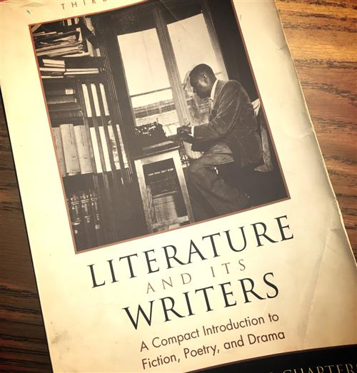 book of literature and its writers