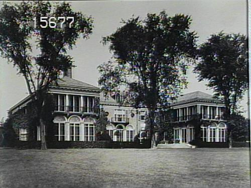 Historic Photo of Backyard of Phipps Administration Building