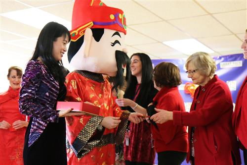 Participants enjoy the Lunar New Year Celebration at the Adult Learning Center