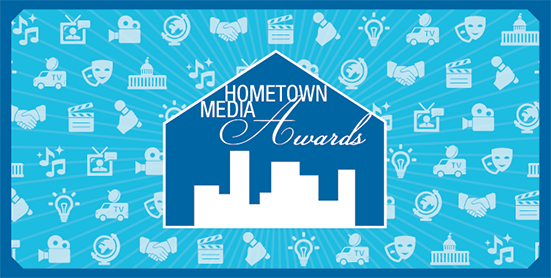 Image of the Hometown Media Awards logo