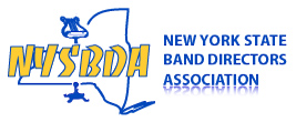 Logo for the New York State Band Directors Association