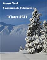 Image of the Catalog Cover for Community Ed Winter 2020 session
