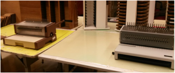 Photo of Book Binding Machine