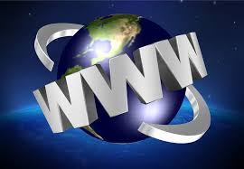 Image of WWW abbreviation for World Wide Web with globe in background