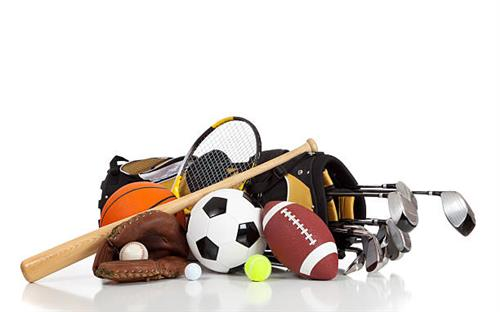 Picture of sports equipment