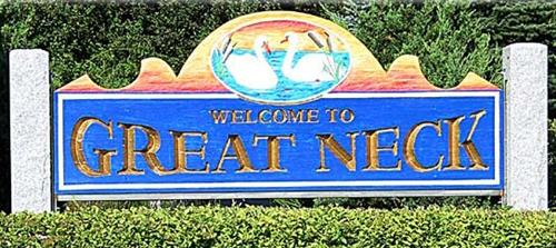 Photo of Welcome To Great Neck sign