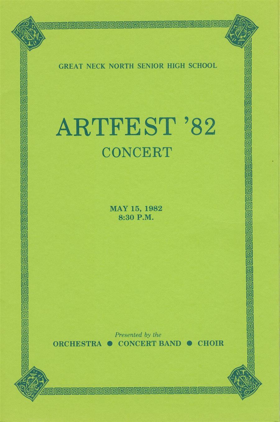 1982 Calendar Telugu.Rutkowski Joseph Concert Programs