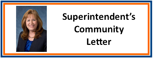 School Safety Community Letter From Superintendent of Schools